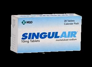 Singulair, la solution pour l'asthme