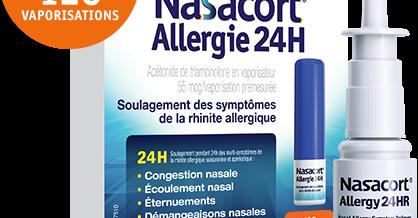 Nasacort, vivez bien l'allergie !